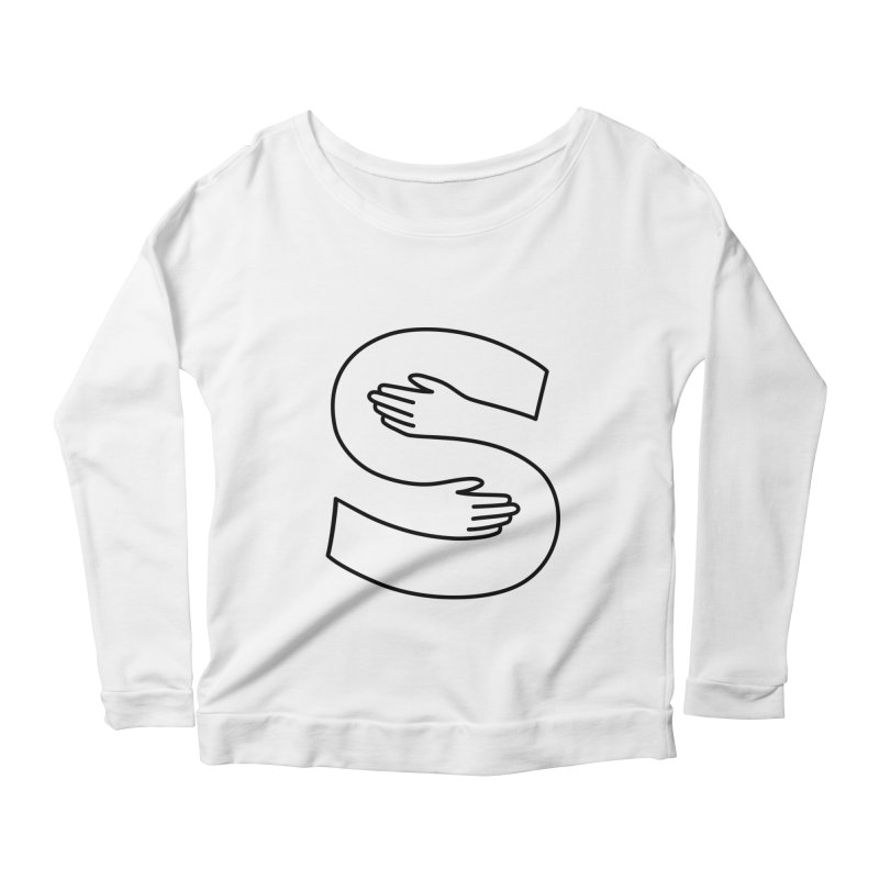 S-Squeeze Me? Women's Scoop Neck Longsleeve T-Shirt by Hi Hello Greetings