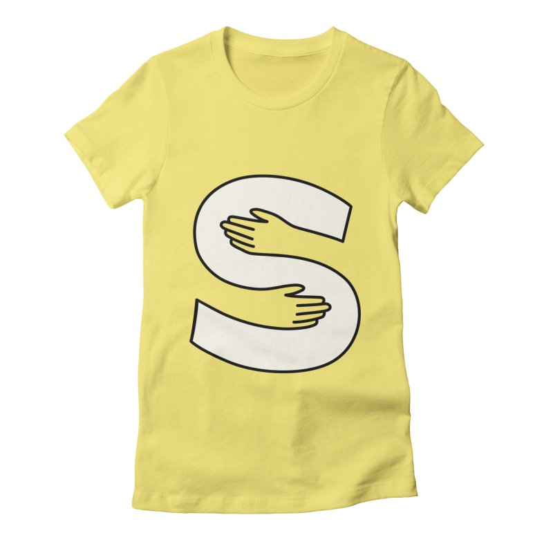 S-Squeeze Me? Women's Fitted T-Shirt by Hi Hello Greetings