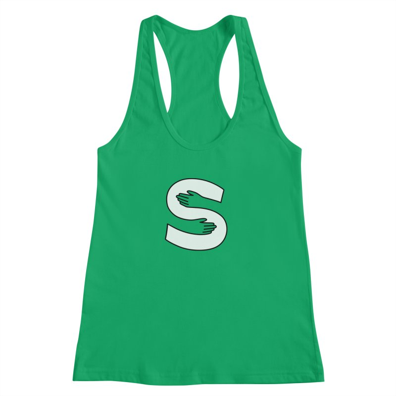 S-Squeeze Me? Women's Tank by Hi Hello Greetings