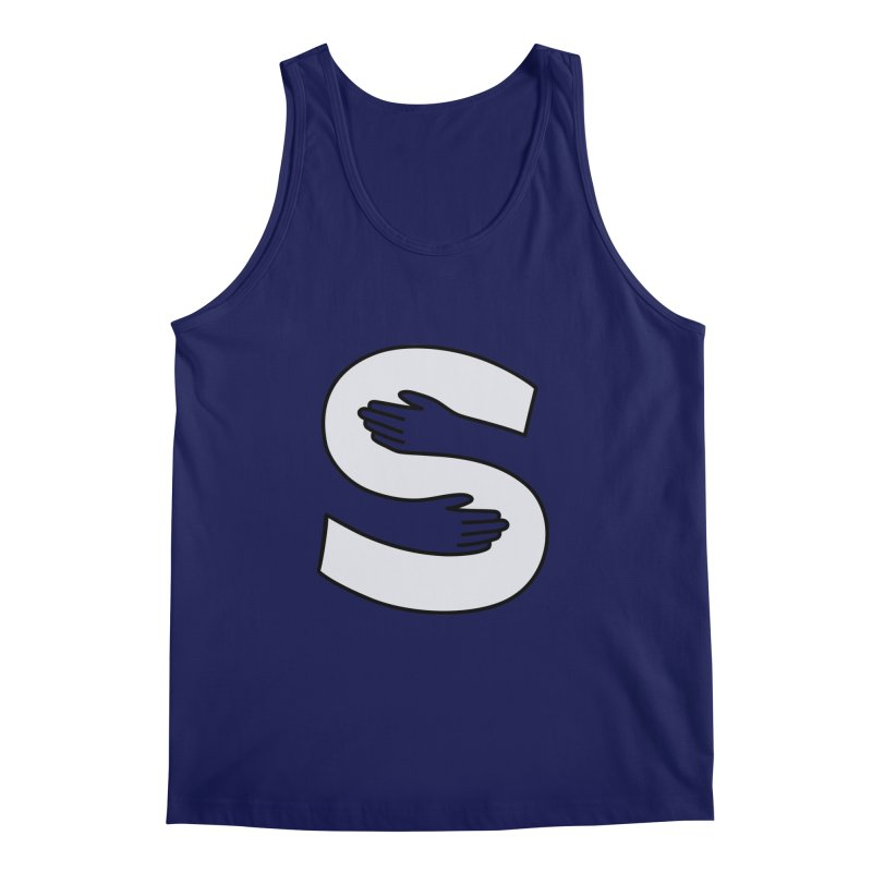 S-Squeeze Me? Men's Regular Tank by Hi Hello Greetings