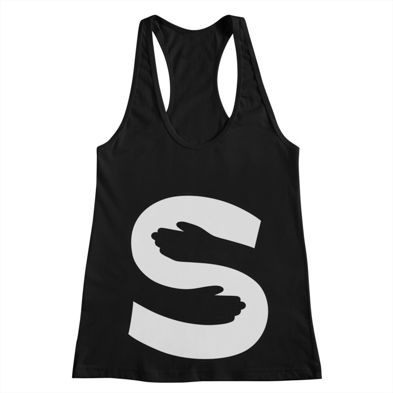 S-Squeeze Me? Women's Racerback Tank by Hi Hello Greetings