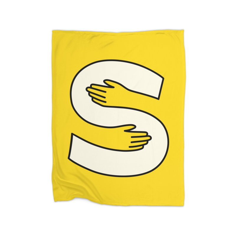 S-Squeeze Me? Home Fleece Blanket Blanket by Hi Hello Greetings