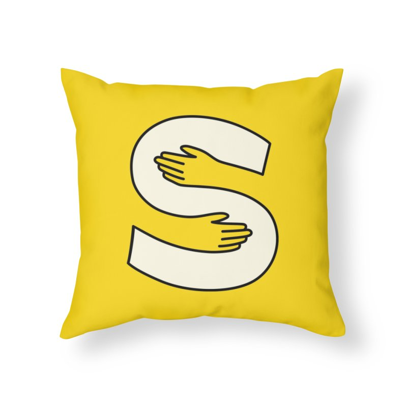 S-Squeeze Me? in Throw Pillow by Hi Hello Greetings
