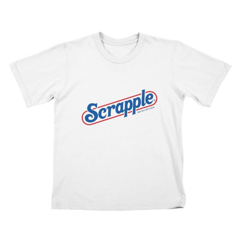 Scrapple Kids T-Shirt by Hi Hello Greetings