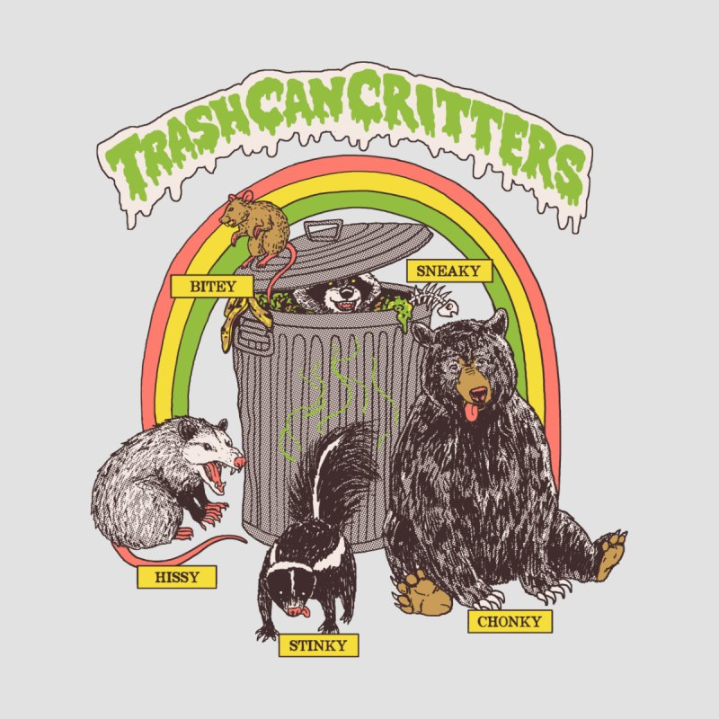 Trash Can Critters by Hillary White