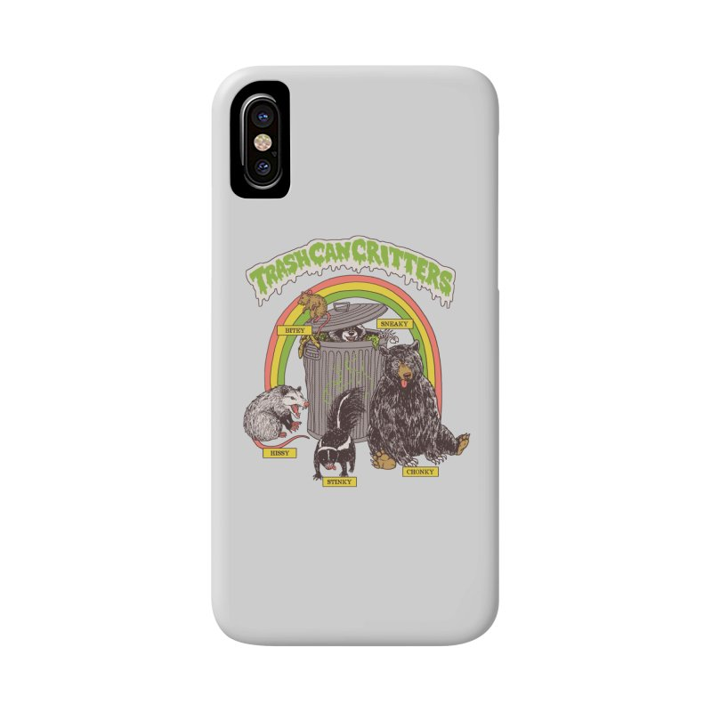 Trash Can Critters Accessories Phone Case by Hillary White