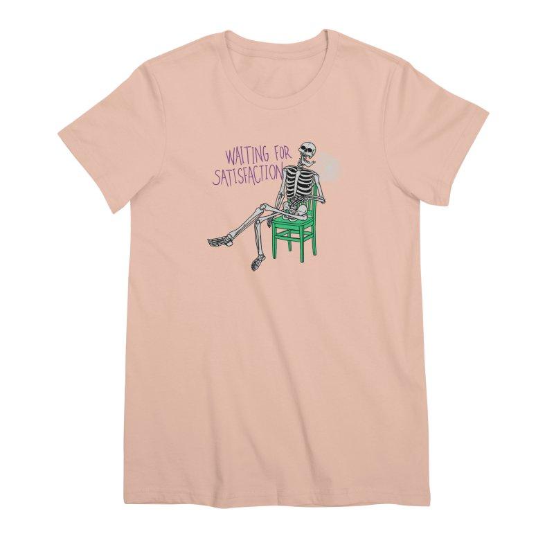 Still Waiting Women's Premium T-Shirt by Hillary White
