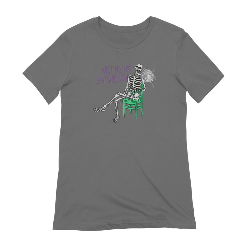 Still Waiting Women's Extra Soft T-Shirt by Hillary White