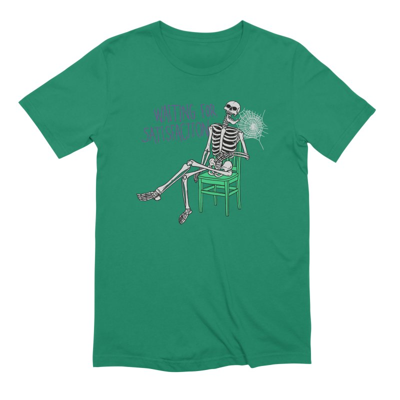 Still Waiting Men's Extra Soft T-Shirt by Hillary White