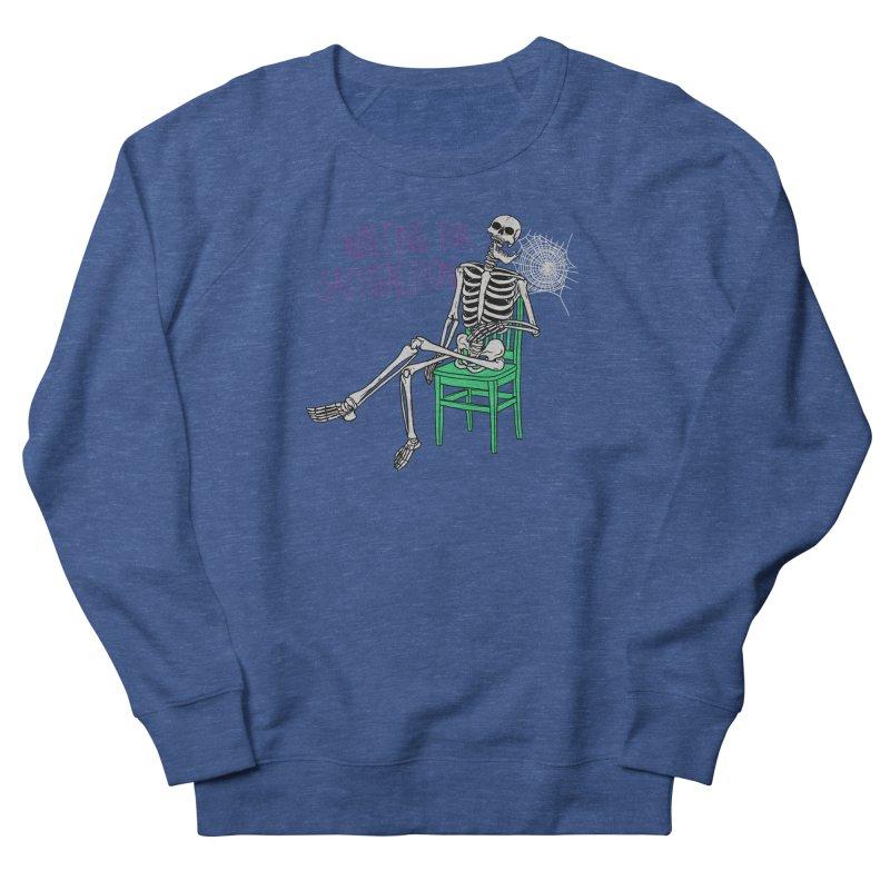 Still Waiting Men's Sweatshirt by Hillary White