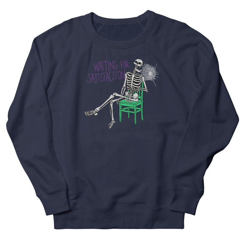 Still Waiting Women's French Terry Sweatshirt by Hillary White