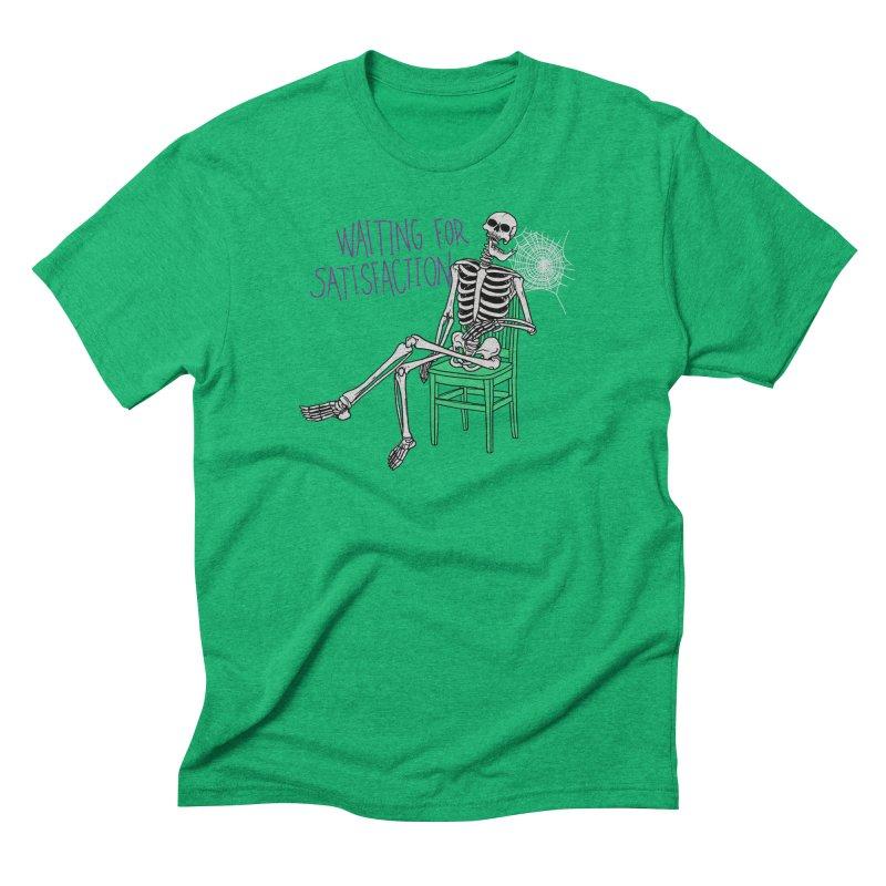 Still Waiting Men's Triblend T-Shirt by Hillary White