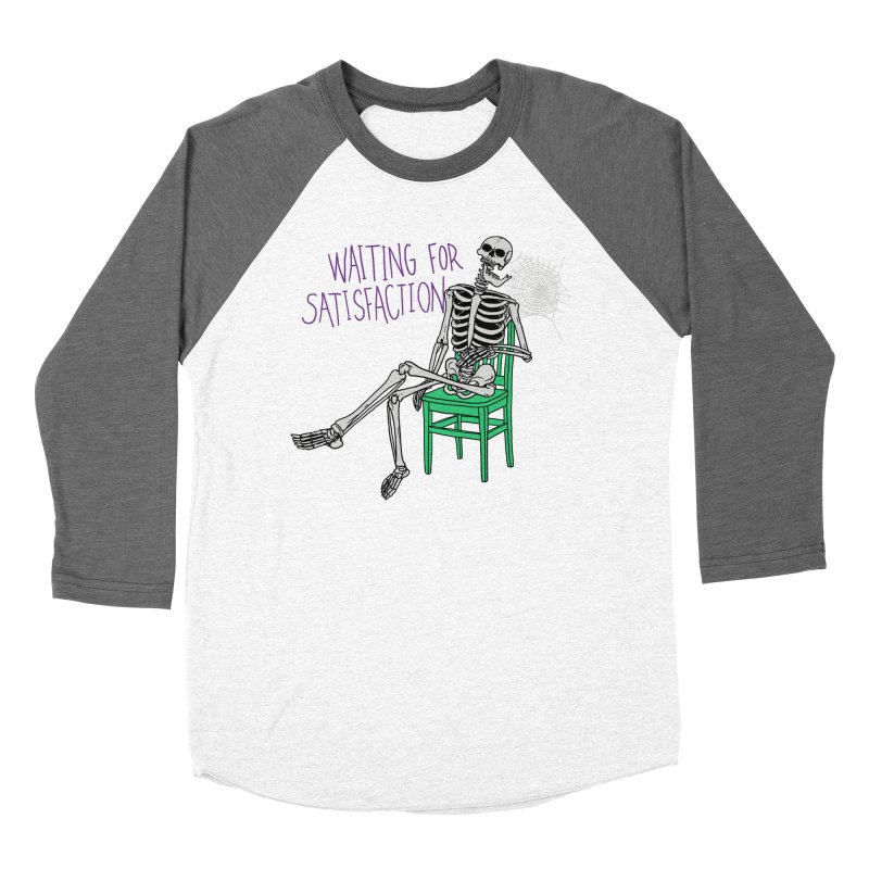 Still Waiting Men's Baseball Triblend Longsleeve T-Shirt by Hillary White