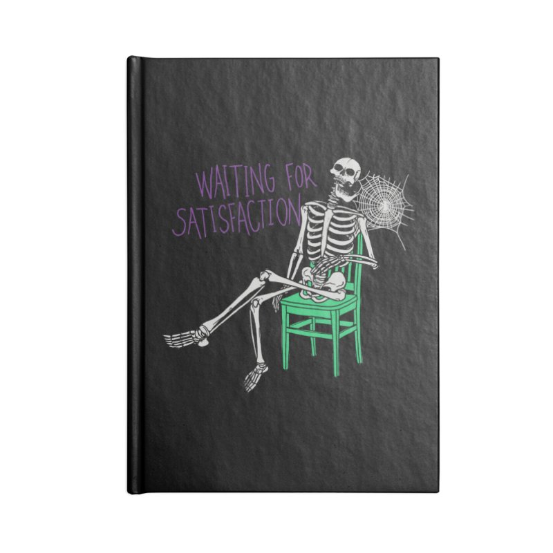 Still Waiting Accessories Blank Journal Notebook by Hillary White