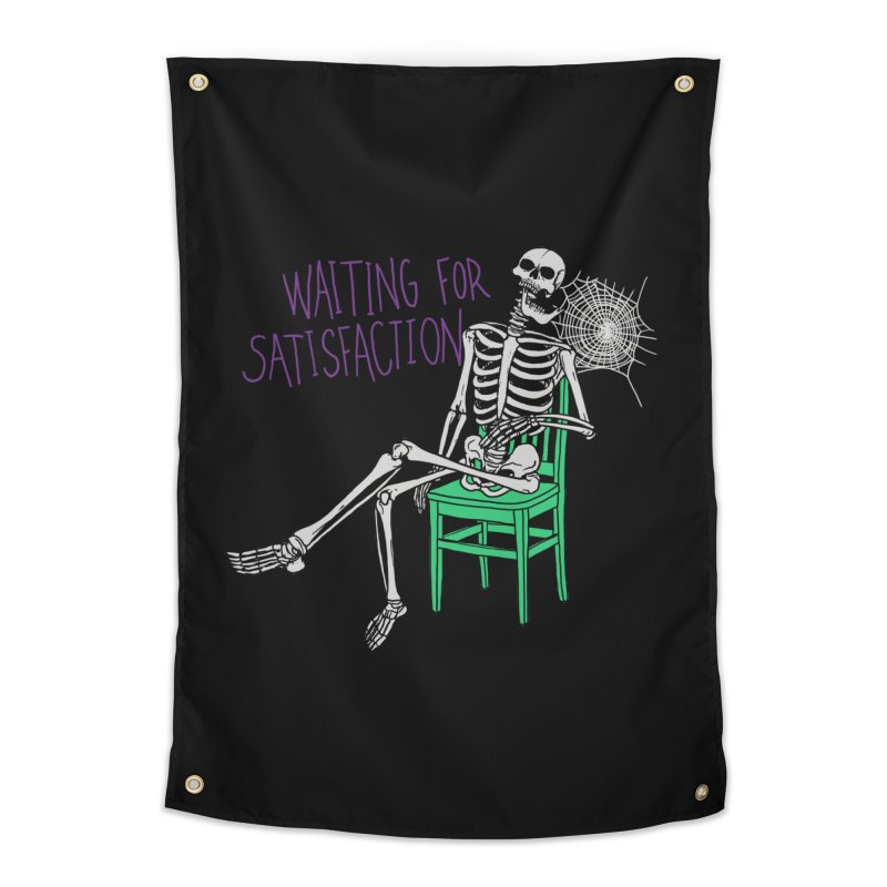 Still Waiting Home Tapestry by Hillary White