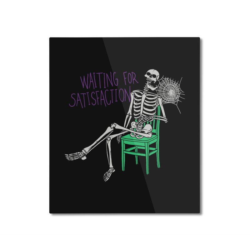Still Waiting Home Mounted Aluminum Print by Hillary White