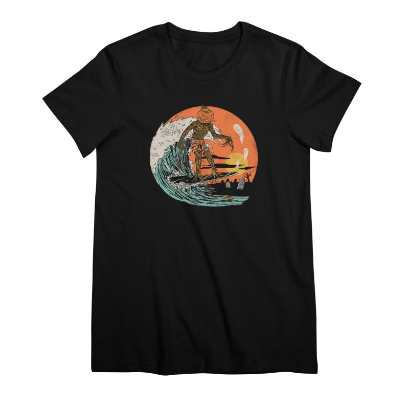 Carve The Wave Women's Premium T-Shirt by Hillary White