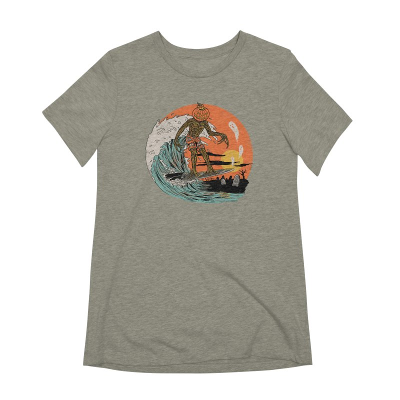 Carve The Wave Women's Extra Soft T-Shirt by Hillary White