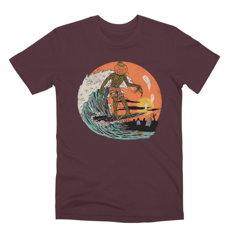 Carve The Wave Men's Premium T-Shirt by Hillary White