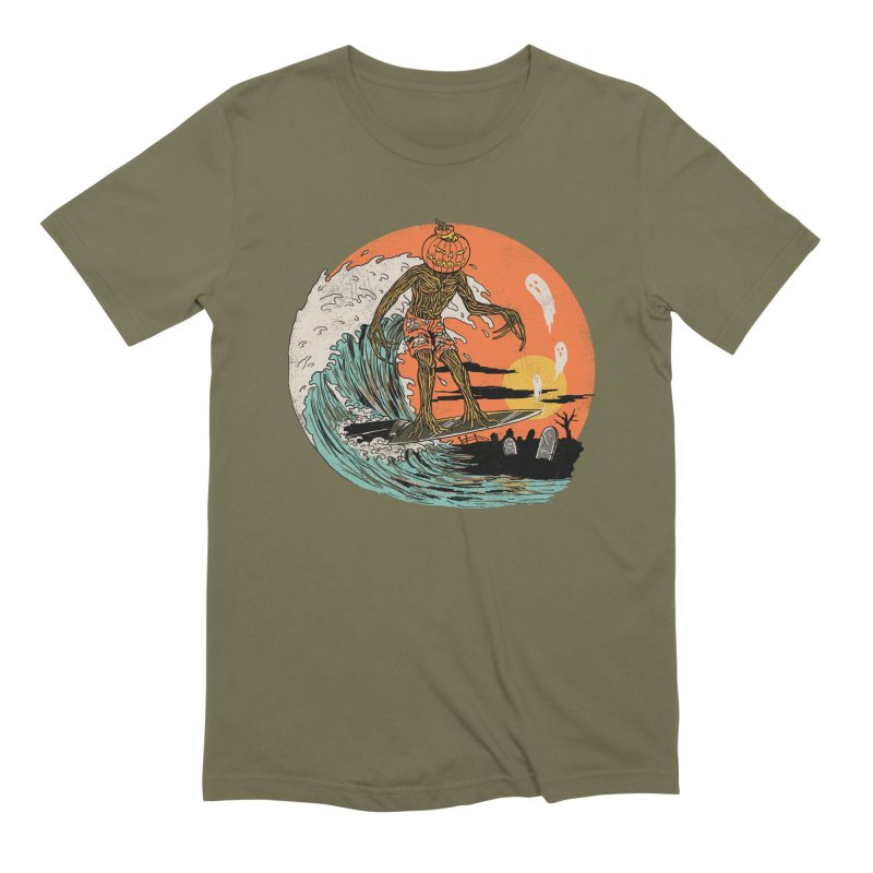 Carve The Wave Men's Extra Soft T-Shirt by Hillary White