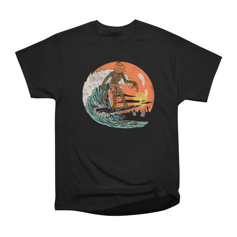 Carve The Wave Men's Heavyweight T-Shirt by Hillary White