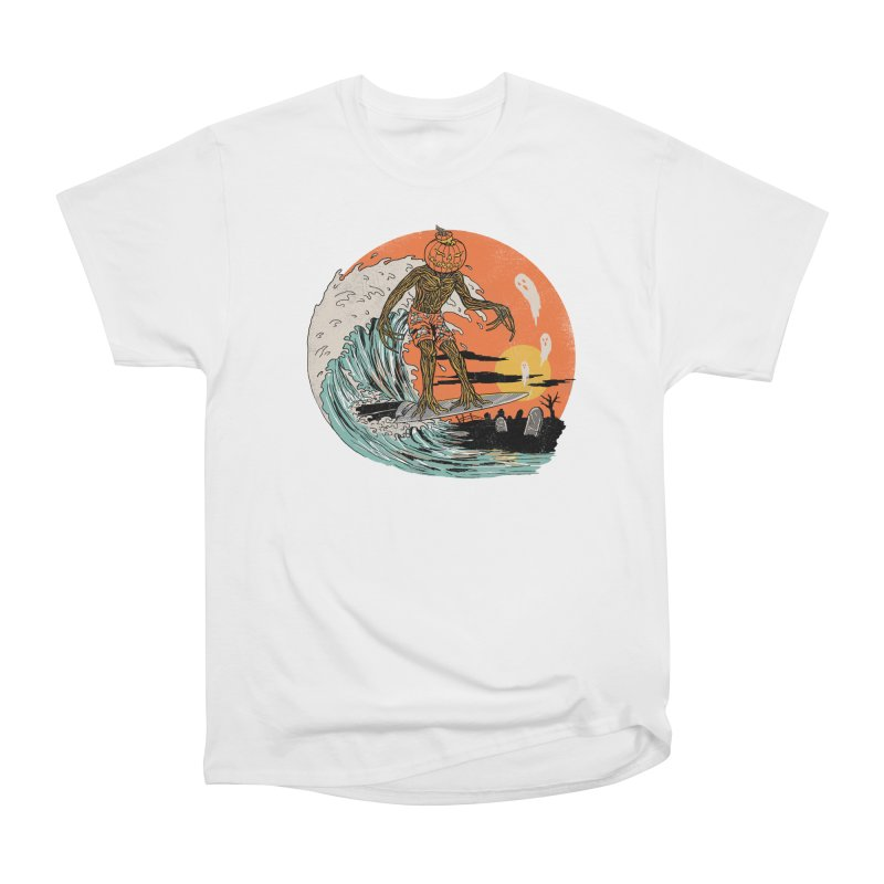 Carve The Wave Women's Heavyweight Unisex T-Shirt by Hillary White