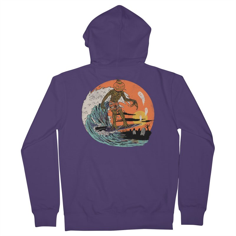 Carve The Wave Women's French Terry Zip-Up Hoody by Hillary White