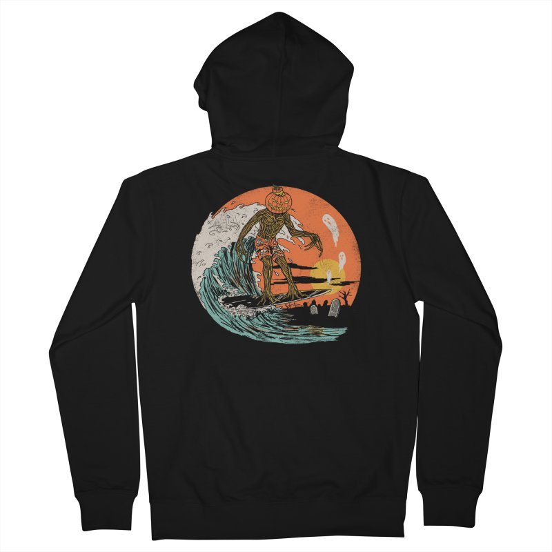 Carve The Wave Men's French Terry Zip-Up Hoody by Hillary White