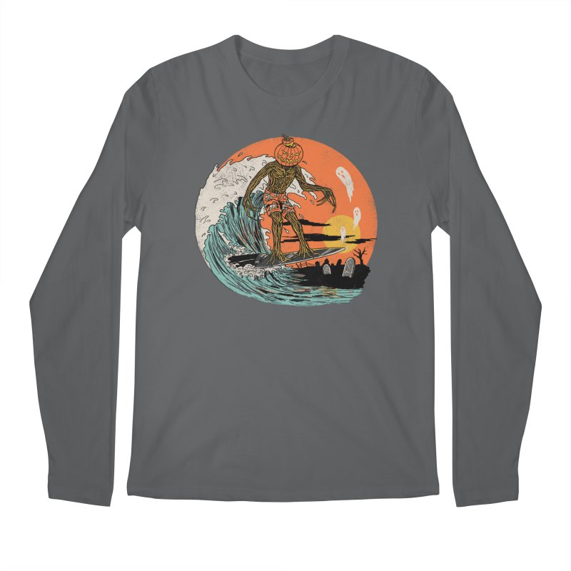 Carve The Wave Men's Regular Longsleeve T-Shirt by Hillary White