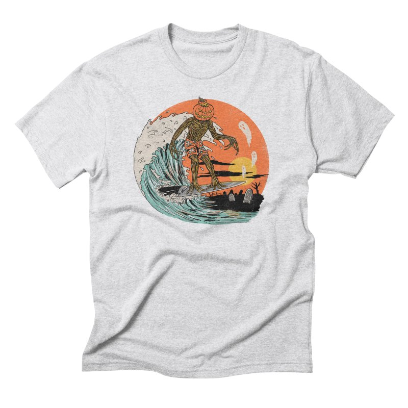 Carve The Wave Men's Triblend T-Shirt by Hillary White