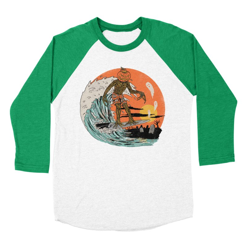 Carve The Wave Women's Baseball Triblend Longsleeve T-Shirt by Hillary White