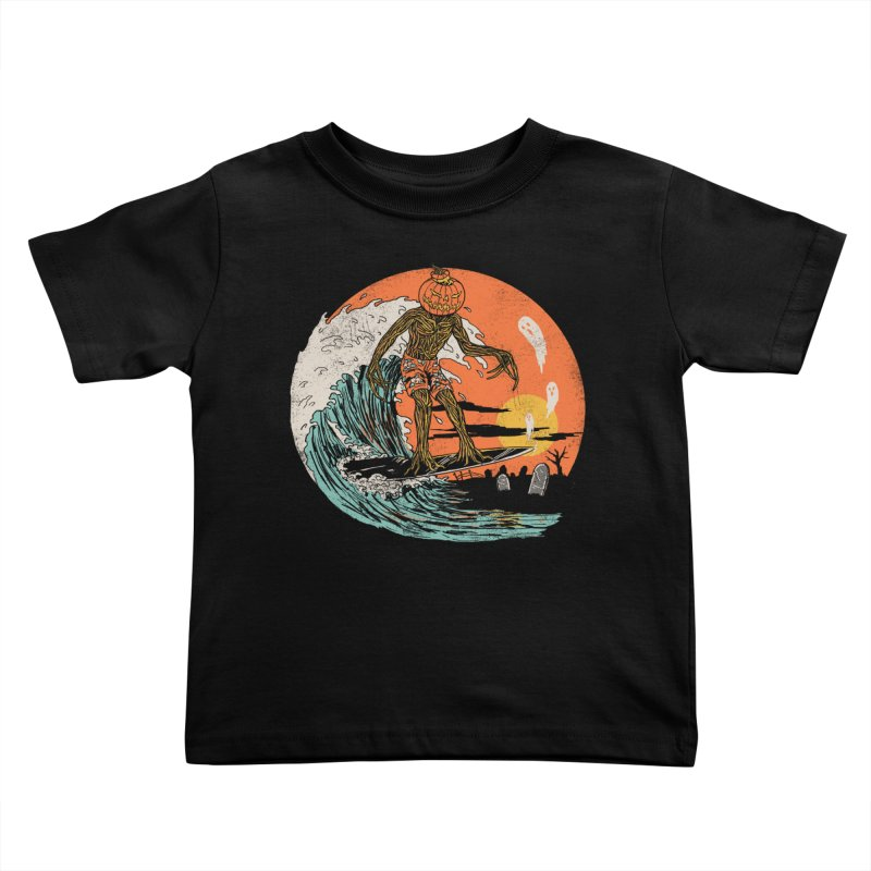 Carve The Wave Kids Toddler T-Shirt by Hillary White