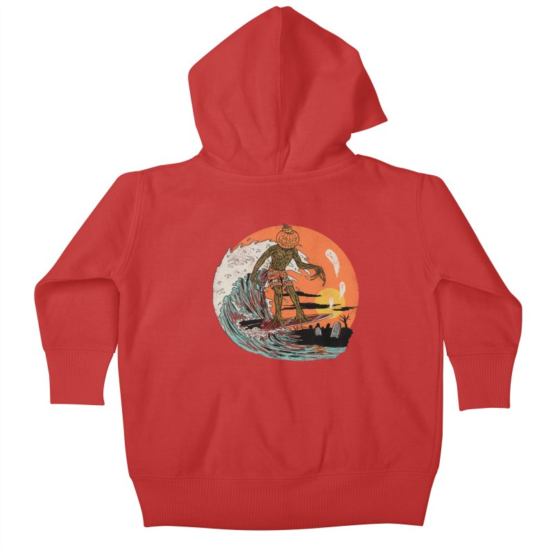 Carve The Wave Kids Baby Zip-Up Hoody by Hillary White