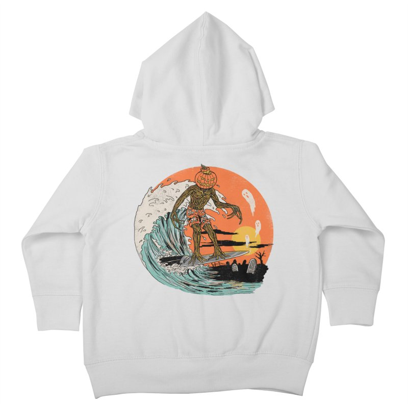 Carve The Wave Kids Toddler Zip-Up Hoody by Hillary White