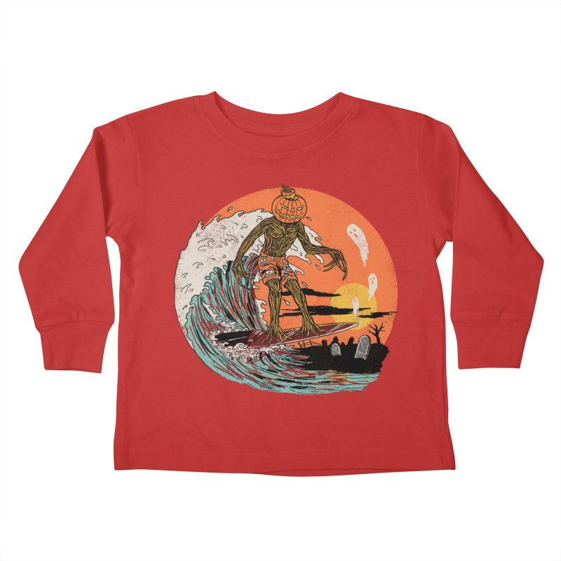 Carve The Wave Kids Toddler Longsleeve T-Shirt by Hillary White