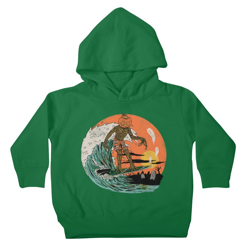 Carve The Wave Kids Toddler Pullover Hoody by Hillary White