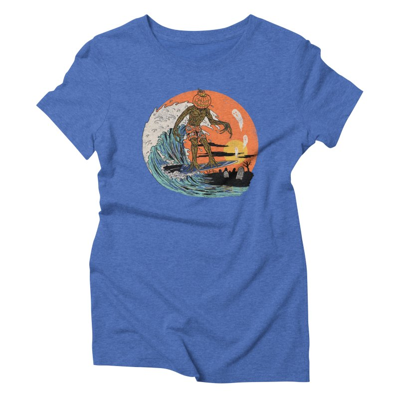 Carve The Wave Women's Triblend T-Shirt by Hillary White