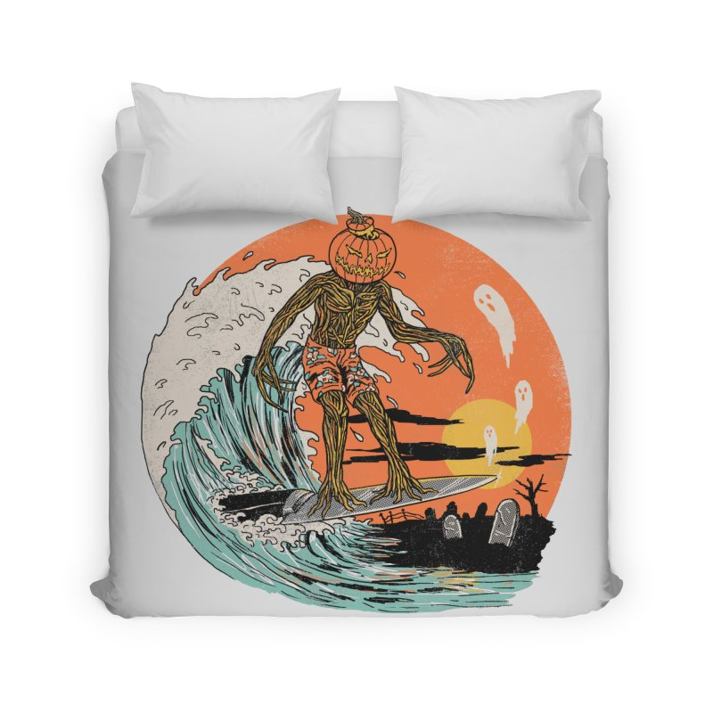 Carve The Wave Home Duvet by Hillary White