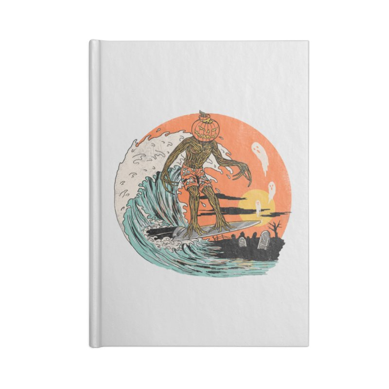 Carve The Wave Accessories Lined Journal Notebook by Hillary White