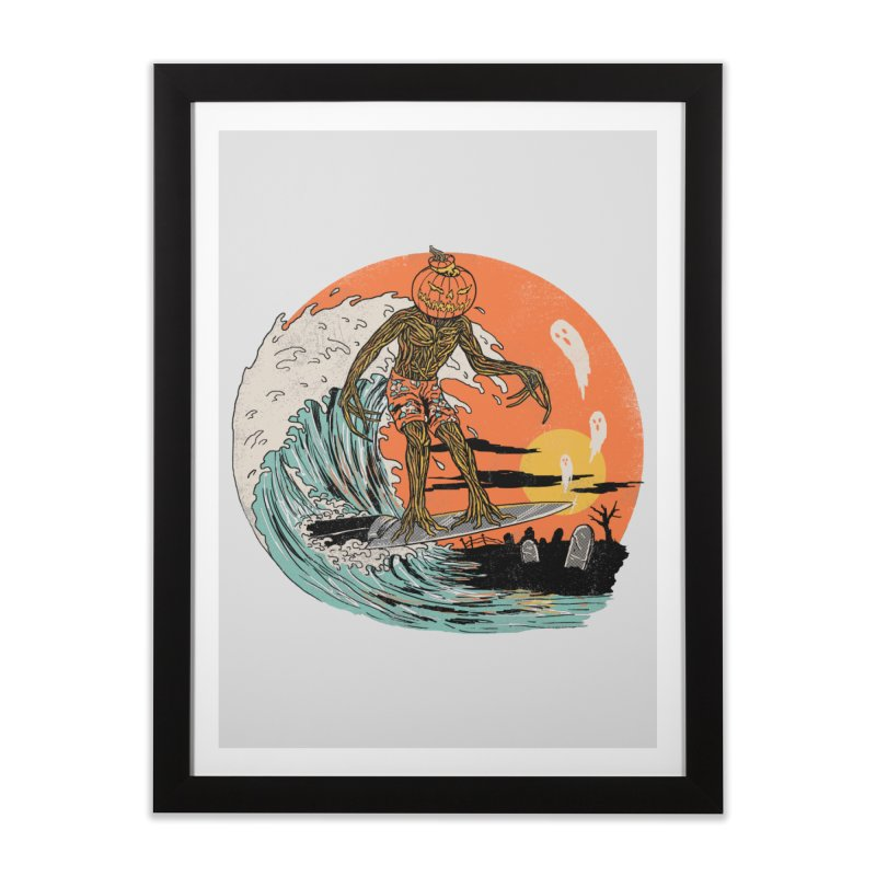 Carve The Wave Home Framed Fine Art Print by Hillary White