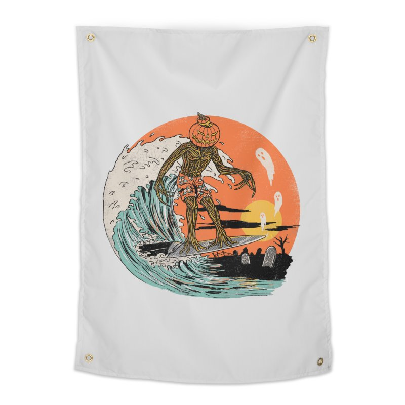 Carve The Wave Home Tapestry by Hillary White