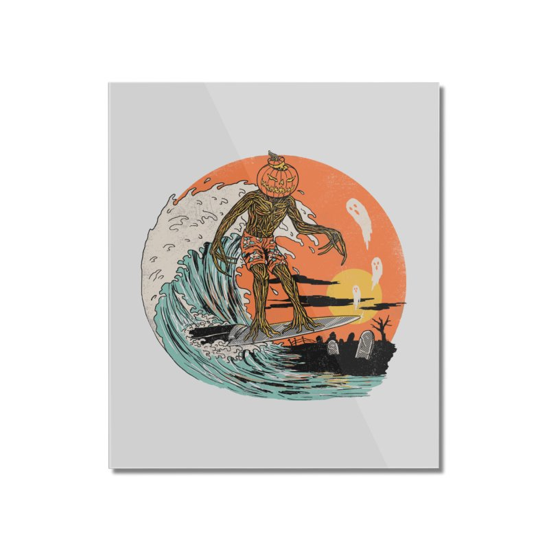 Carve The Wave Home Mounted Acrylic Print by Hillary White