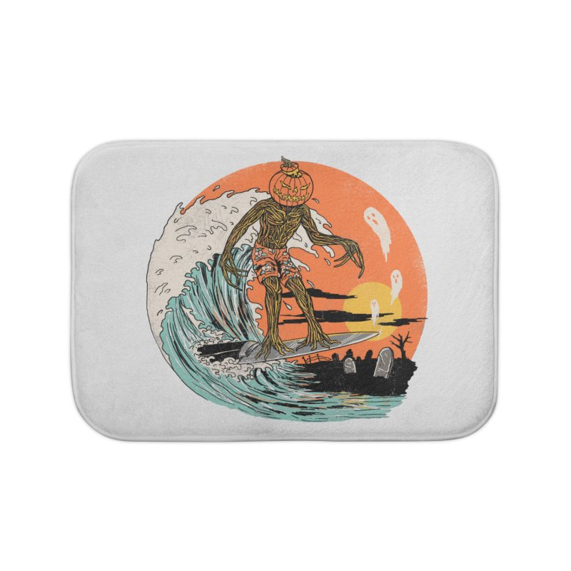 Carve The Wave Home Bath Mat by Hillary White