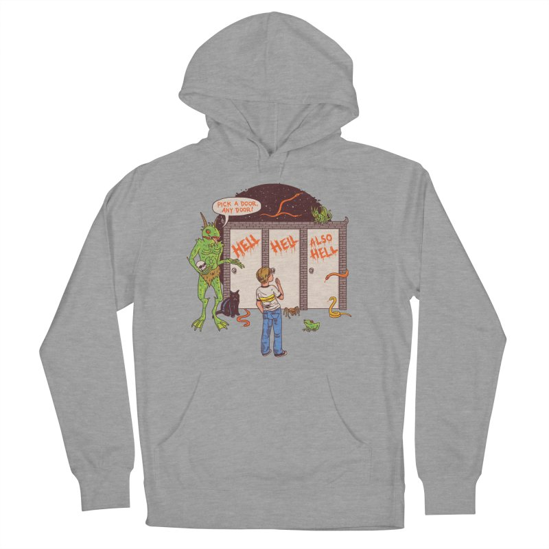 Life Choices Men's French Terry Pullover Hoody by Hillary White