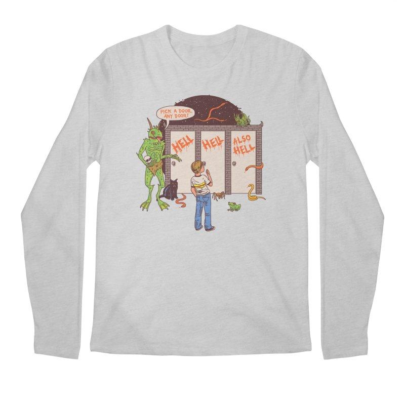 Life Choices Men's Regular Longsleeve T-Shirt by Hillary White
