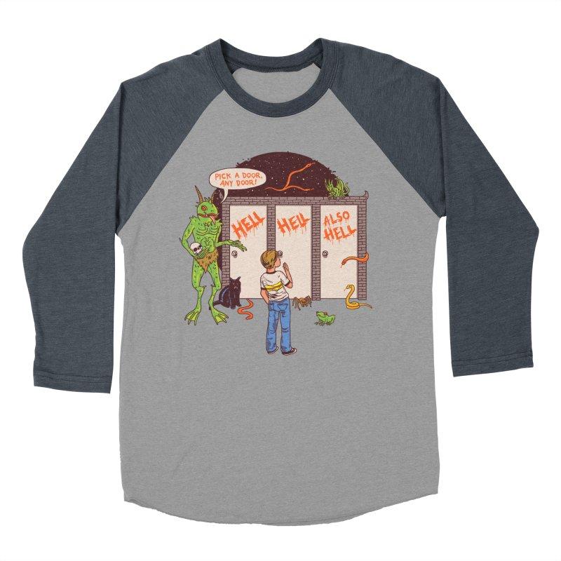 Life Choices Men's Baseball Triblend Longsleeve T-Shirt by Hillary White
