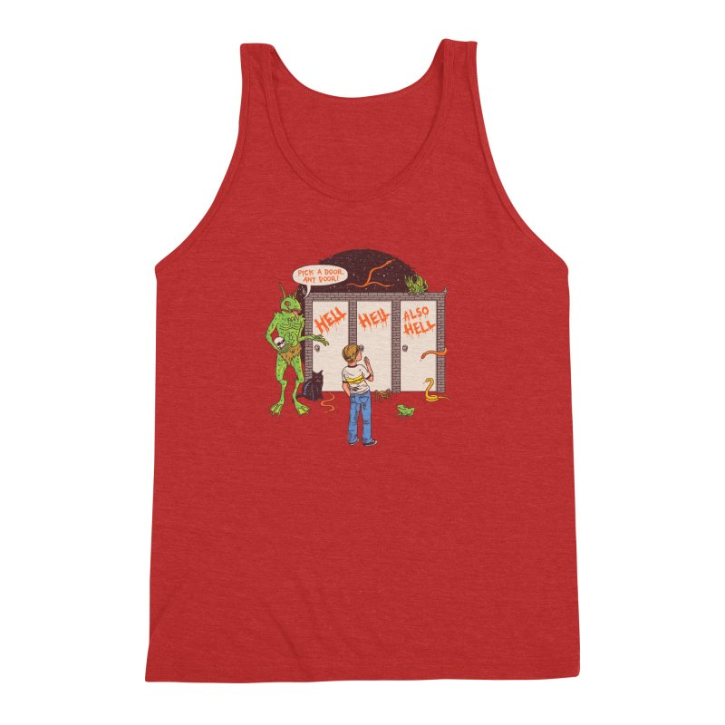 Life Choices Men's Triblend Tank by Hillary White