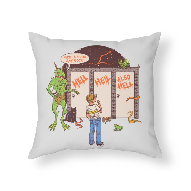 Life Choices Home Throw Pillow by Hillary White
