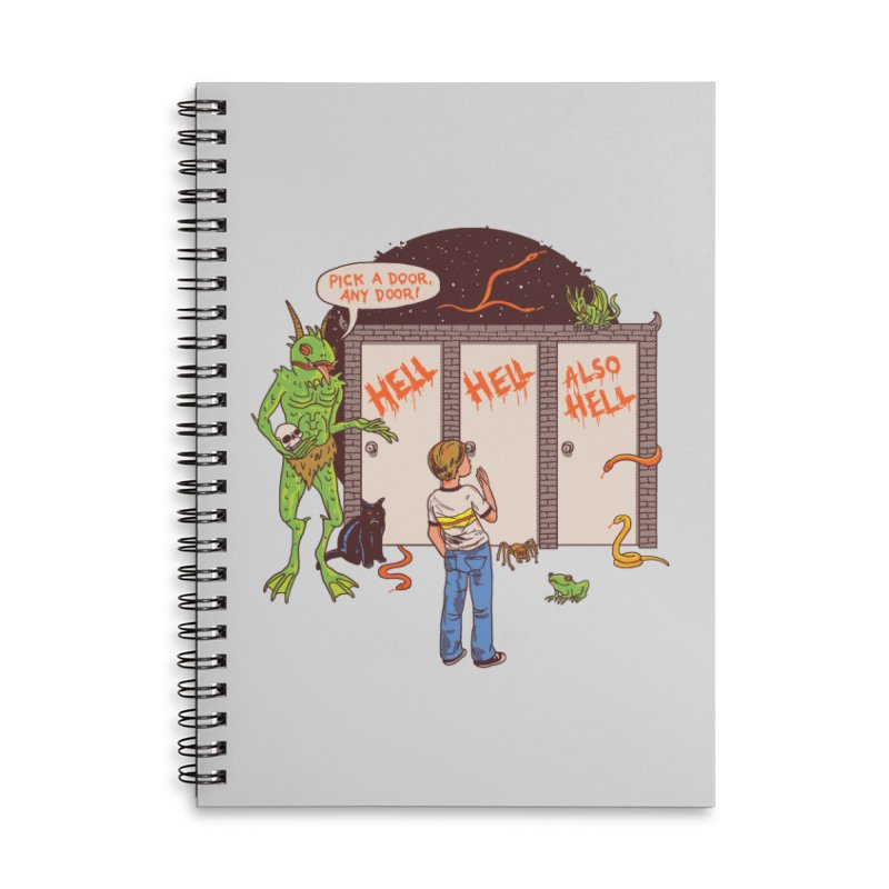 Life Choices Accessories Lined Spiral Notebook by Hillary White