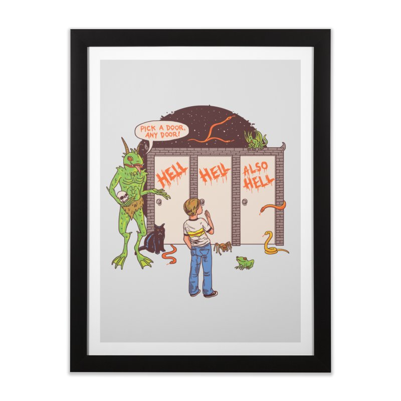 Life Choices Home Framed Fine Art Print by Hillary White